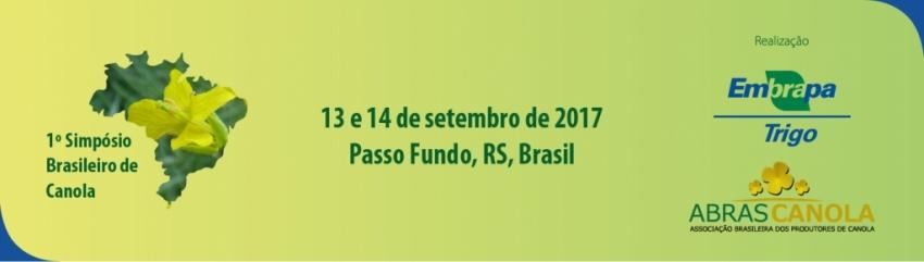 1º Simpósio Brasileiro de Canola